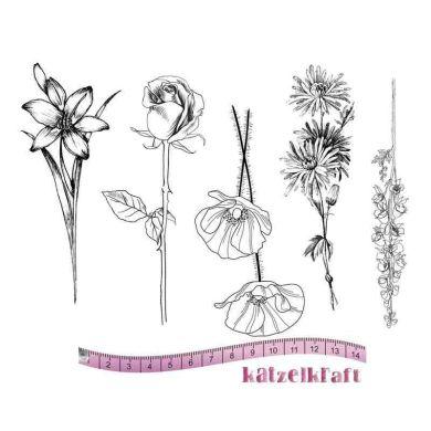 fleurs-a5-tampon-scrapbooking-ktz134